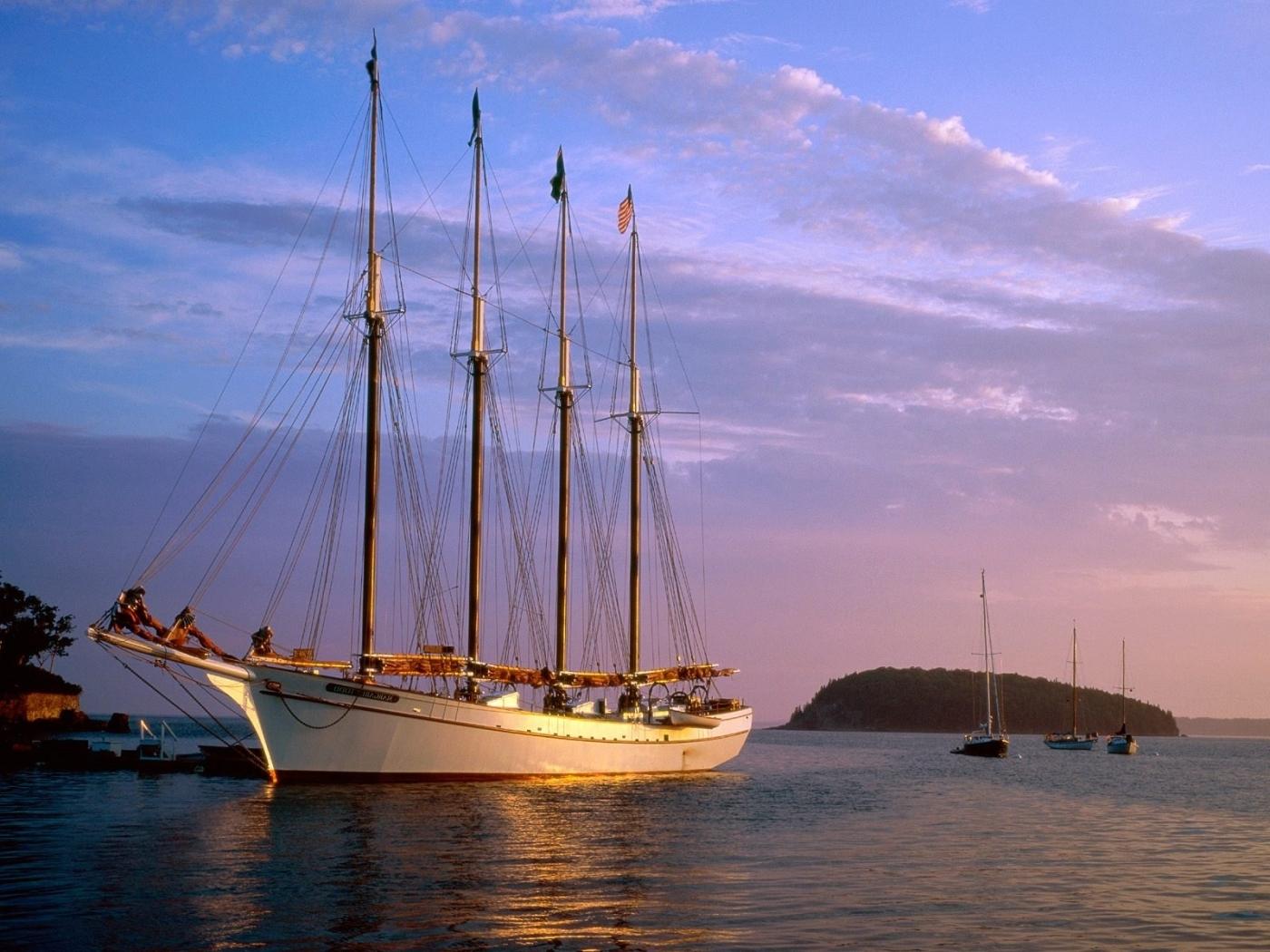 48208 скачать обои Транспорт, Пейзаж, Корабли, Море - заставки и картинки бесплатно