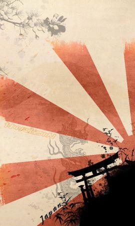 15671 скачать обои Фон, Солнце, Рисунки - заставки и картинки бесплатно
