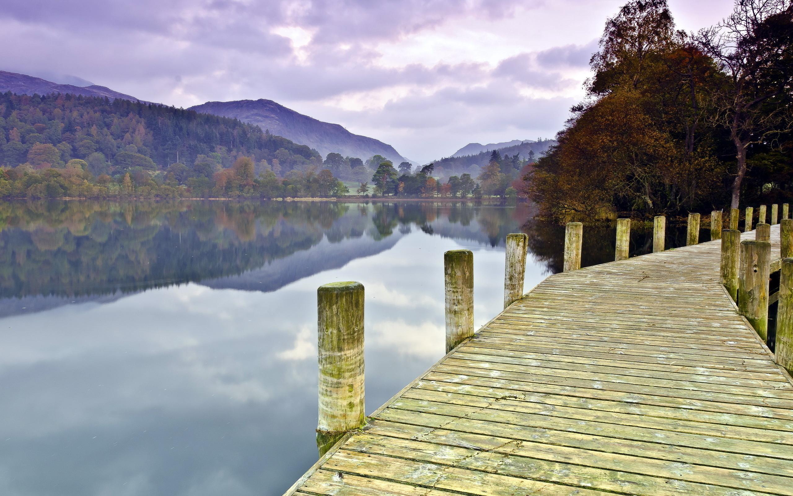 24608 скачать обои Пейзаж, Река, Деревья, Горы - заставки и картинки бесплатно