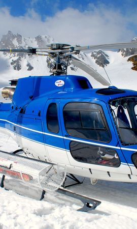 26404 скачать обои Транспорт, Горы, Снег, Вертолеты - заставки и картинки бесплатно