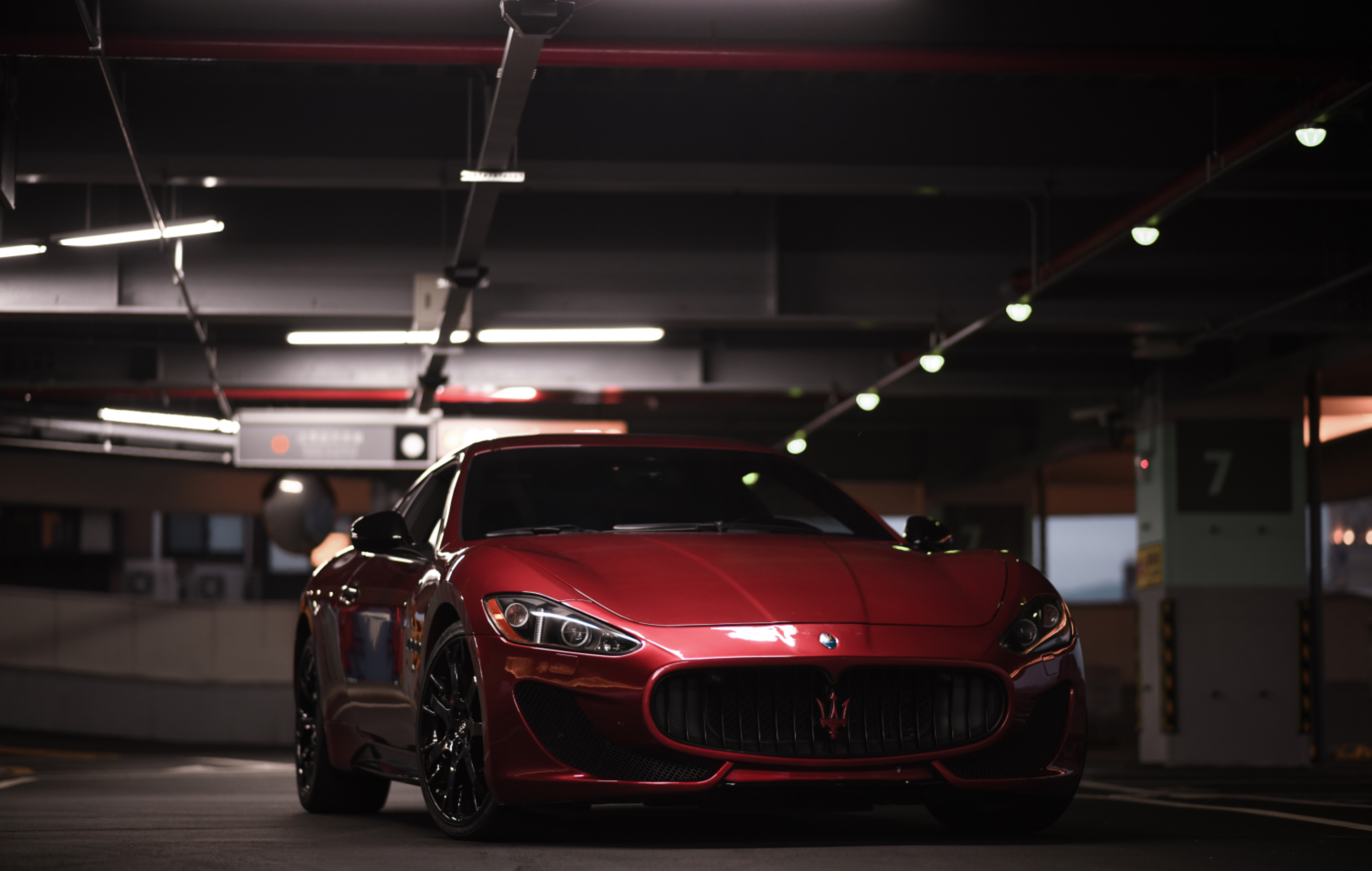114000 Hintergrundbild herunterladen Maserati, Cars, Vorderansicht, Frontansicht, Suite, Lux, Maserati Granturismo, Luxuriös, Luxuriöse - Bildschirmschoner und Bilder kostenlos