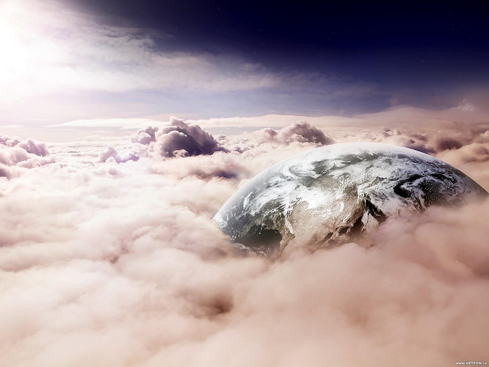 13235 скачать обои Пейзаж, Небо, Планеты, Облака - заставки и картинки бесплатно