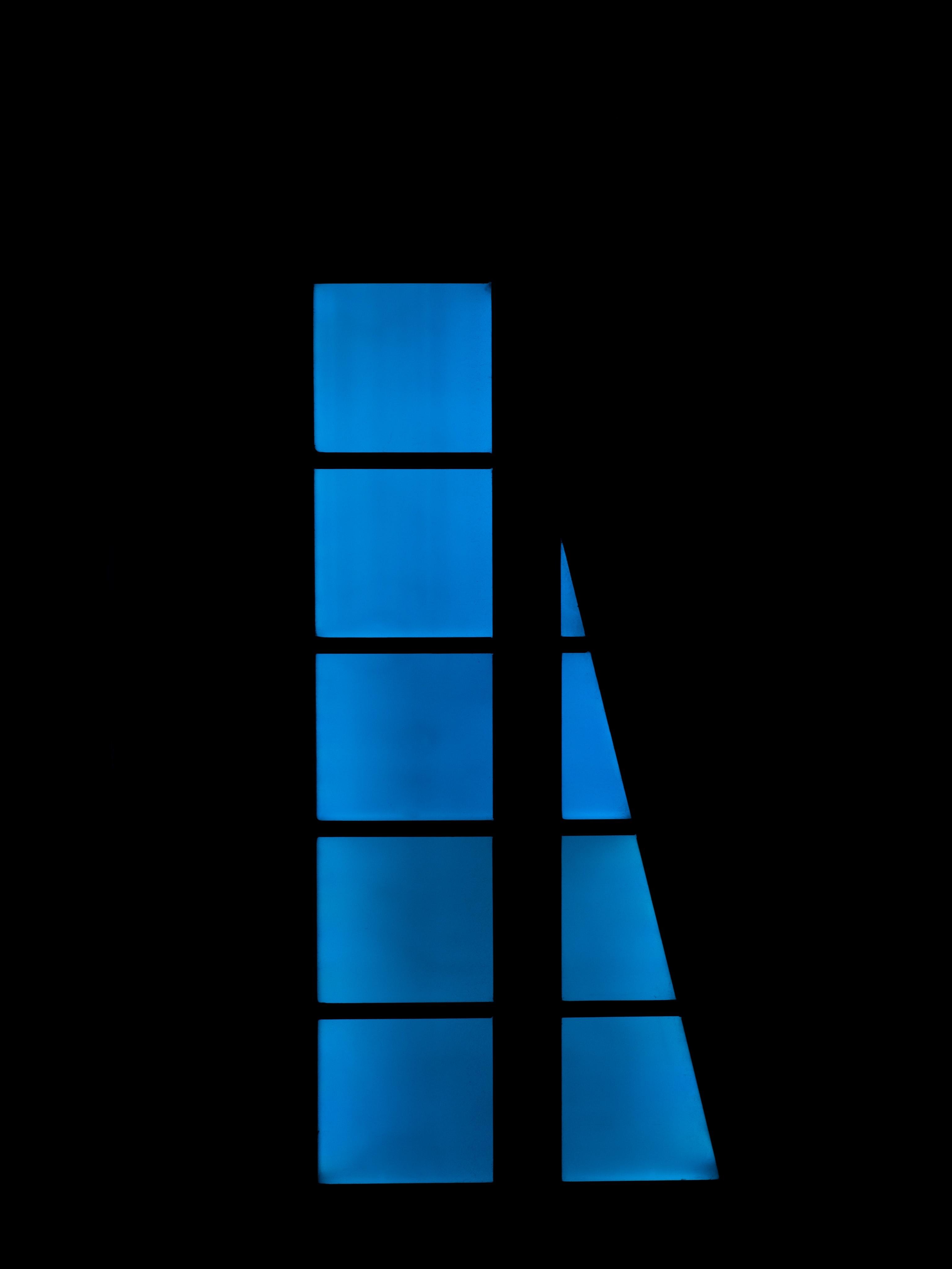 118497 скачать обои Темные, Темный, Синий, Окно, Темнота - заставки и картинки бесплатно