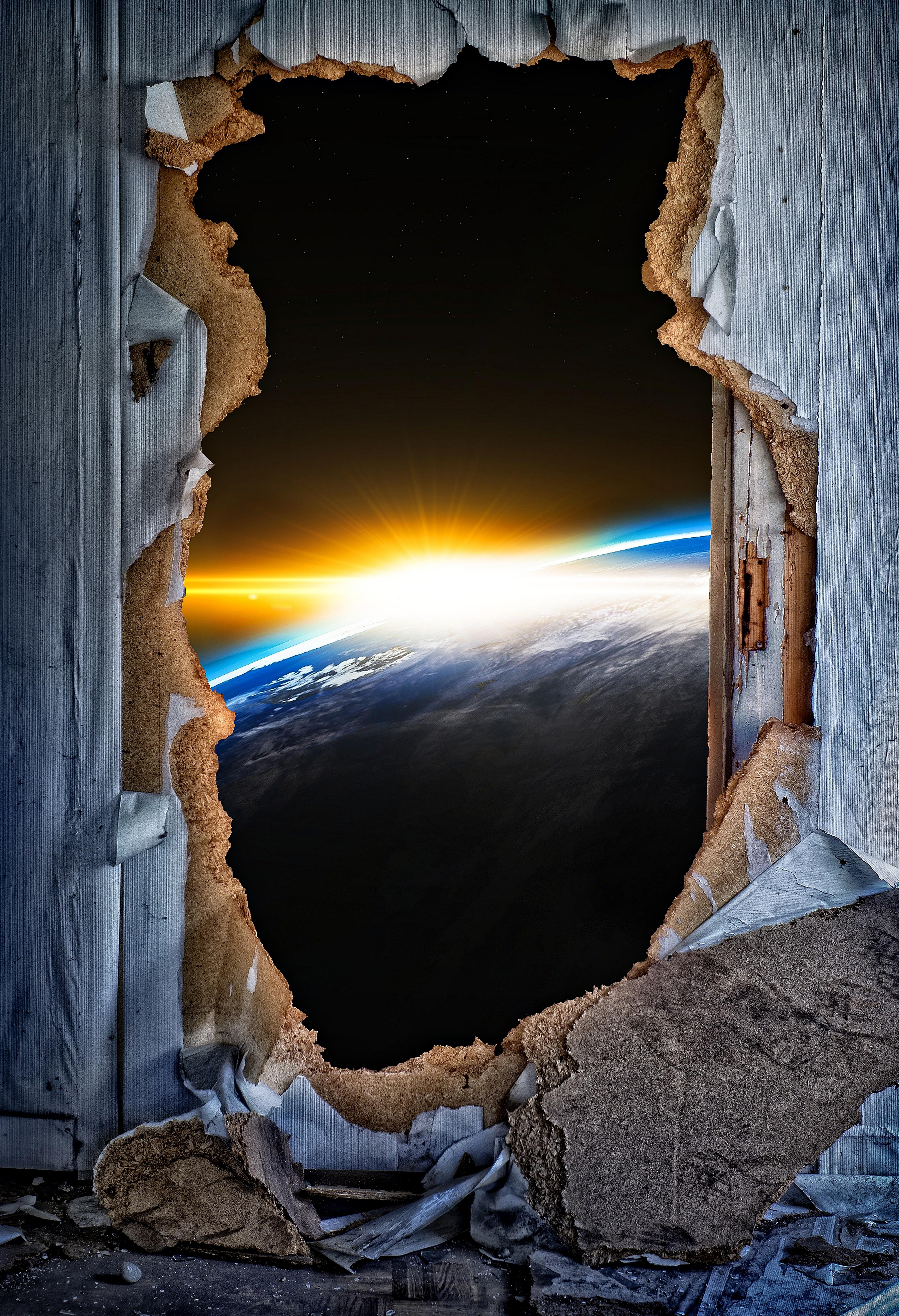 141409 Заставки и Обои Космос на телефон. Скачать Космос, Разное, Сияние, Вспышка, Вид, Дверь картинки бесплатно