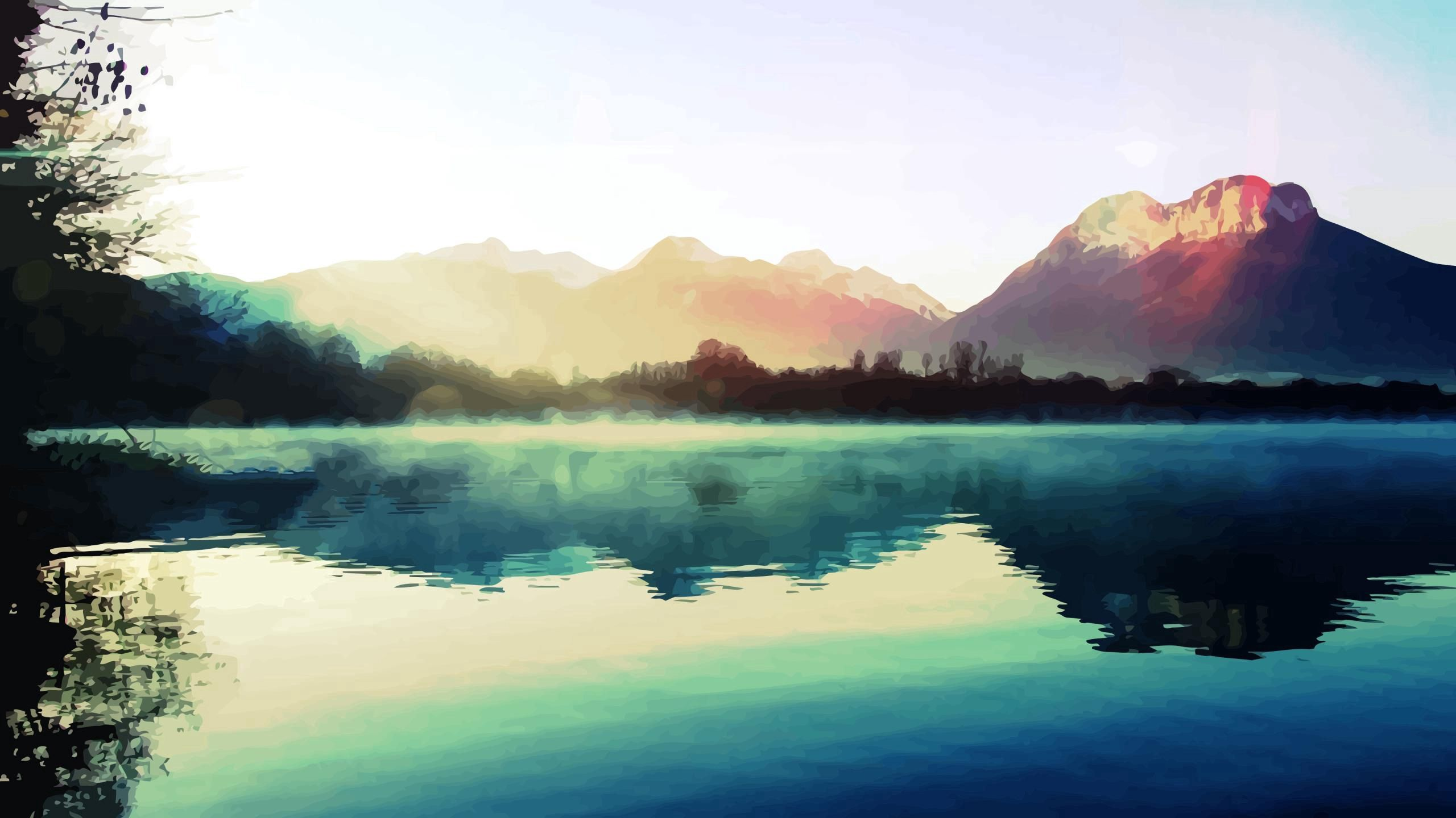 152001 download wallpaper Abstract, Nature, Shine, Light, Lake screensavers and pictures for free