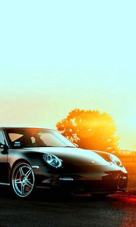 86936 baixar papel de parede Carros, Porsche, Automóveis, Cidade, Pôr Do Sol - protetores de tela e imagens gratuitamente