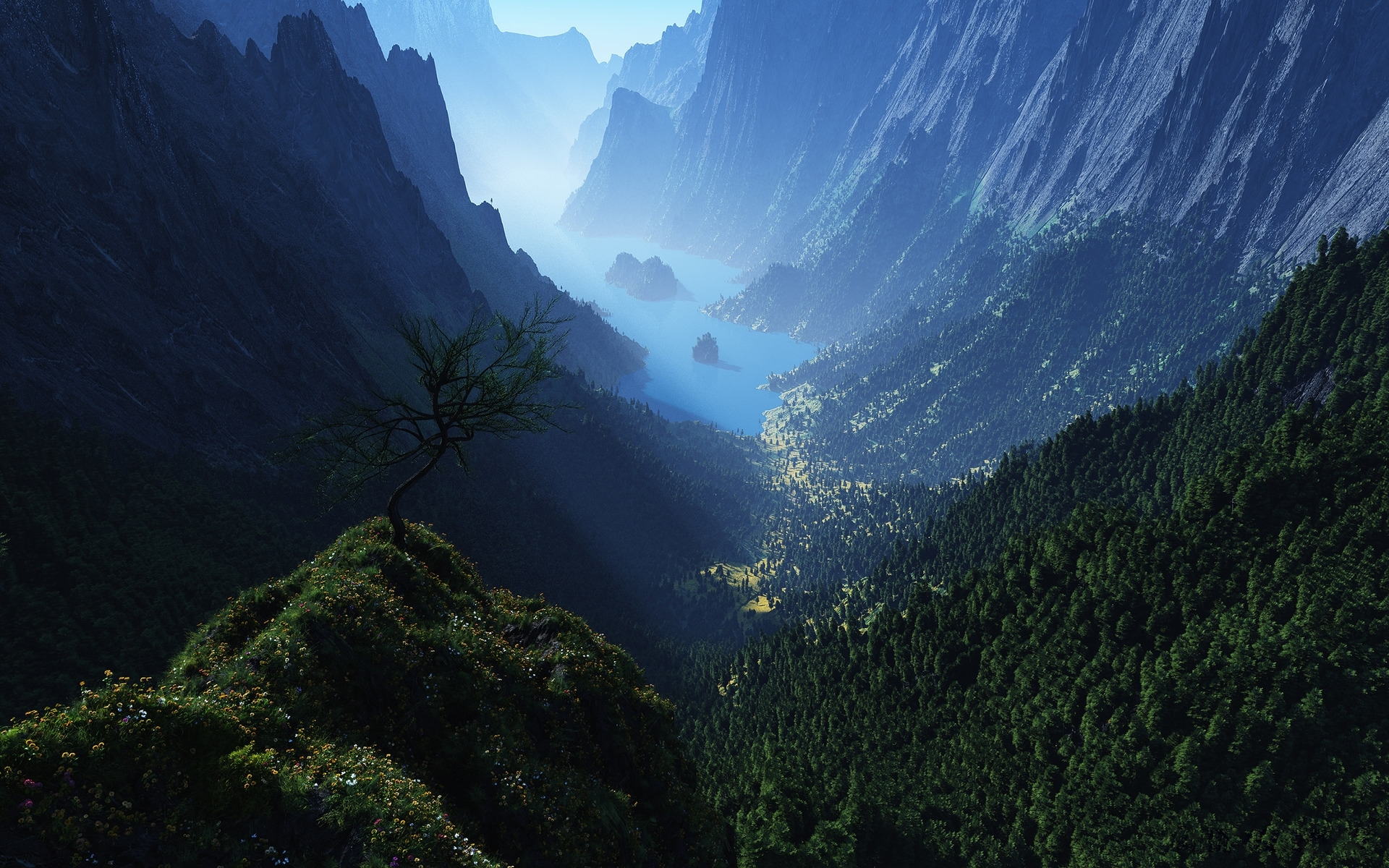 31406 download wallpaper Landscape, Mountains screensavers and pictures for free