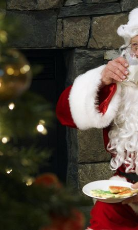 45223 descargar fondo de pantalla Vacaciones, Personas, Año Nuevo, Papá Noel: protectores de pantalla e imágenes gratis