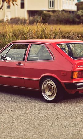 134431 Screensavers and Wallpapers Volkswagen for phone. Download Cars, Volkswagen, Vw, Scirocco, Mk1, 1975, Back View, Rear View pictures for free