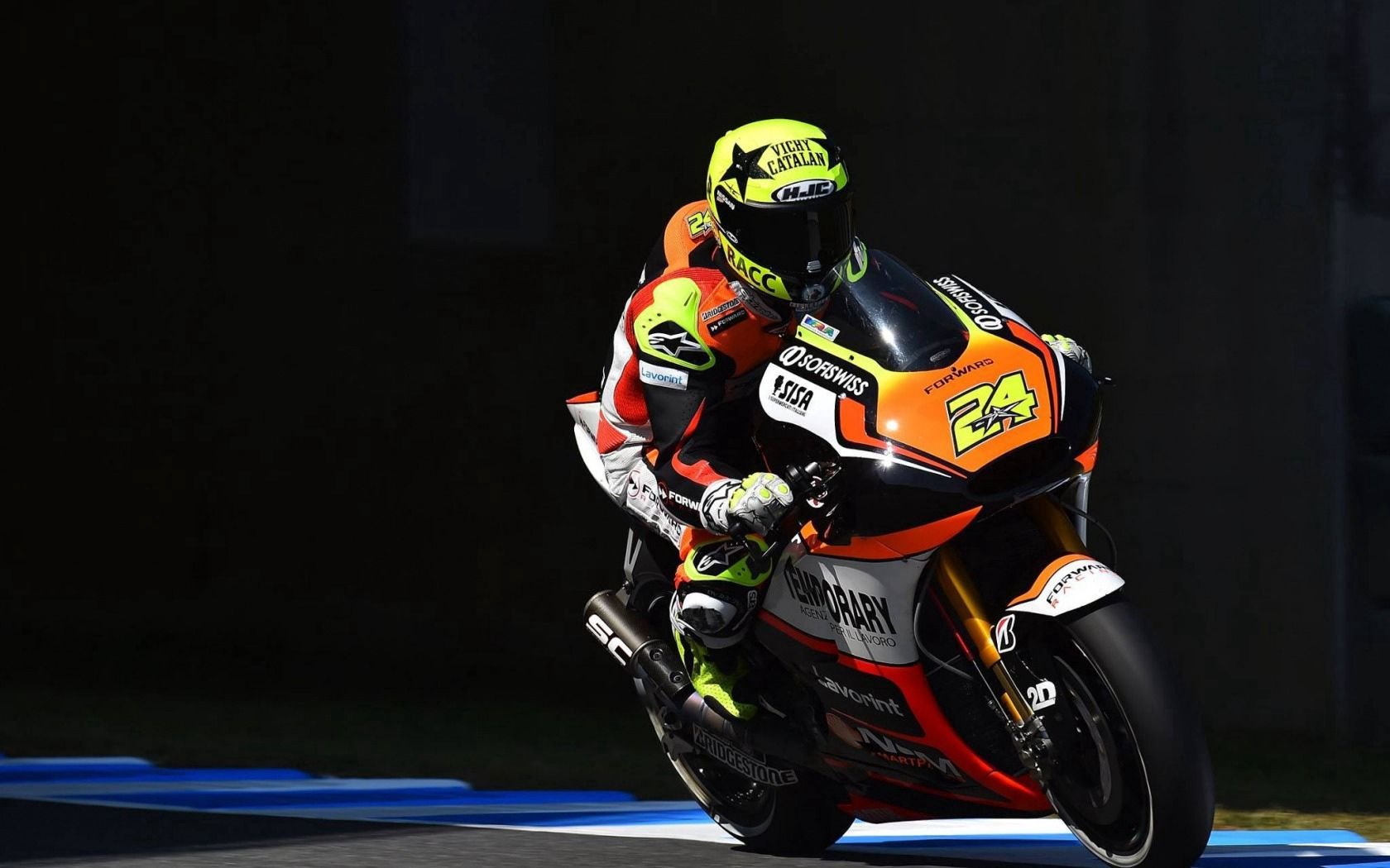 50725 Screensavers and Wallpapers Races for phone. Download Races, Motorcycles, Motorcycle, Toni Elias pictures for free