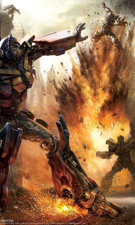 13779 download wallpaper Cinema, Robots, Transformers screensavers and pictures for free