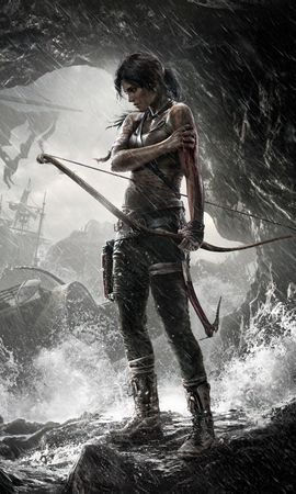 16339 Screensavers and Wallpapers Games for phone. Download Games, People, Girls, Lara Croft: Tomb Raider pictures for free