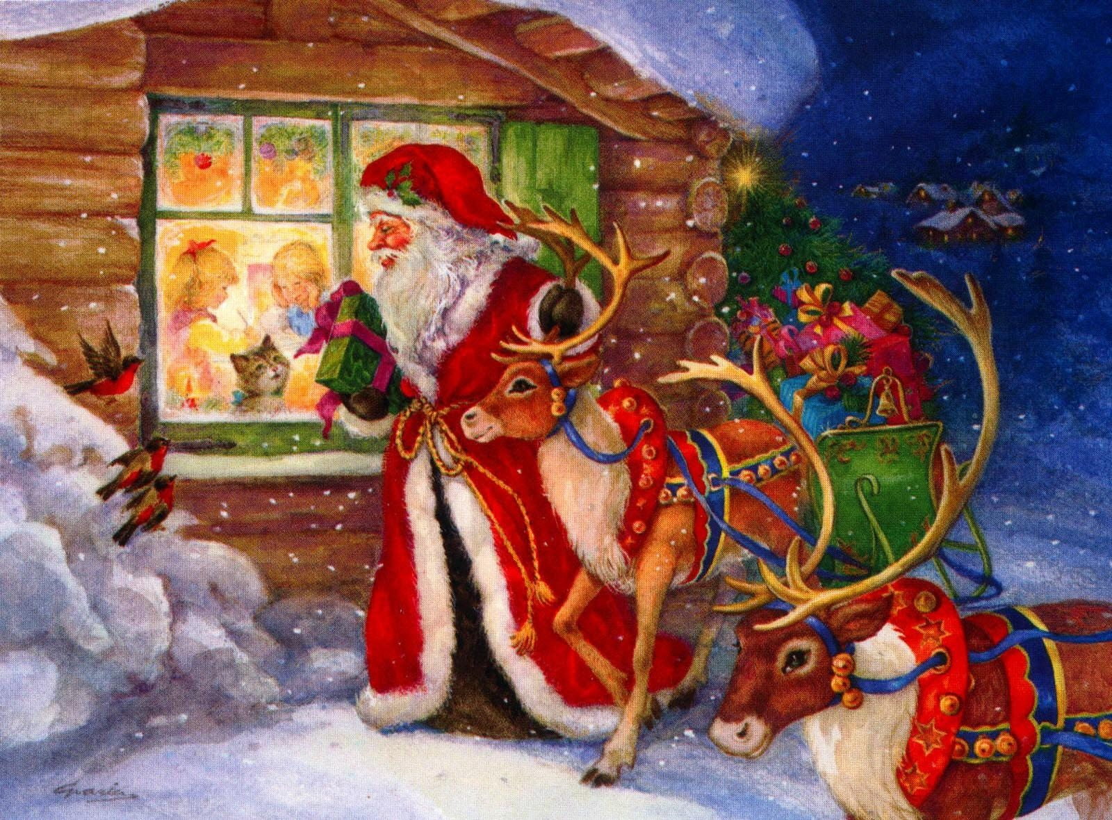 Best Christmas wallpapers for phone screen