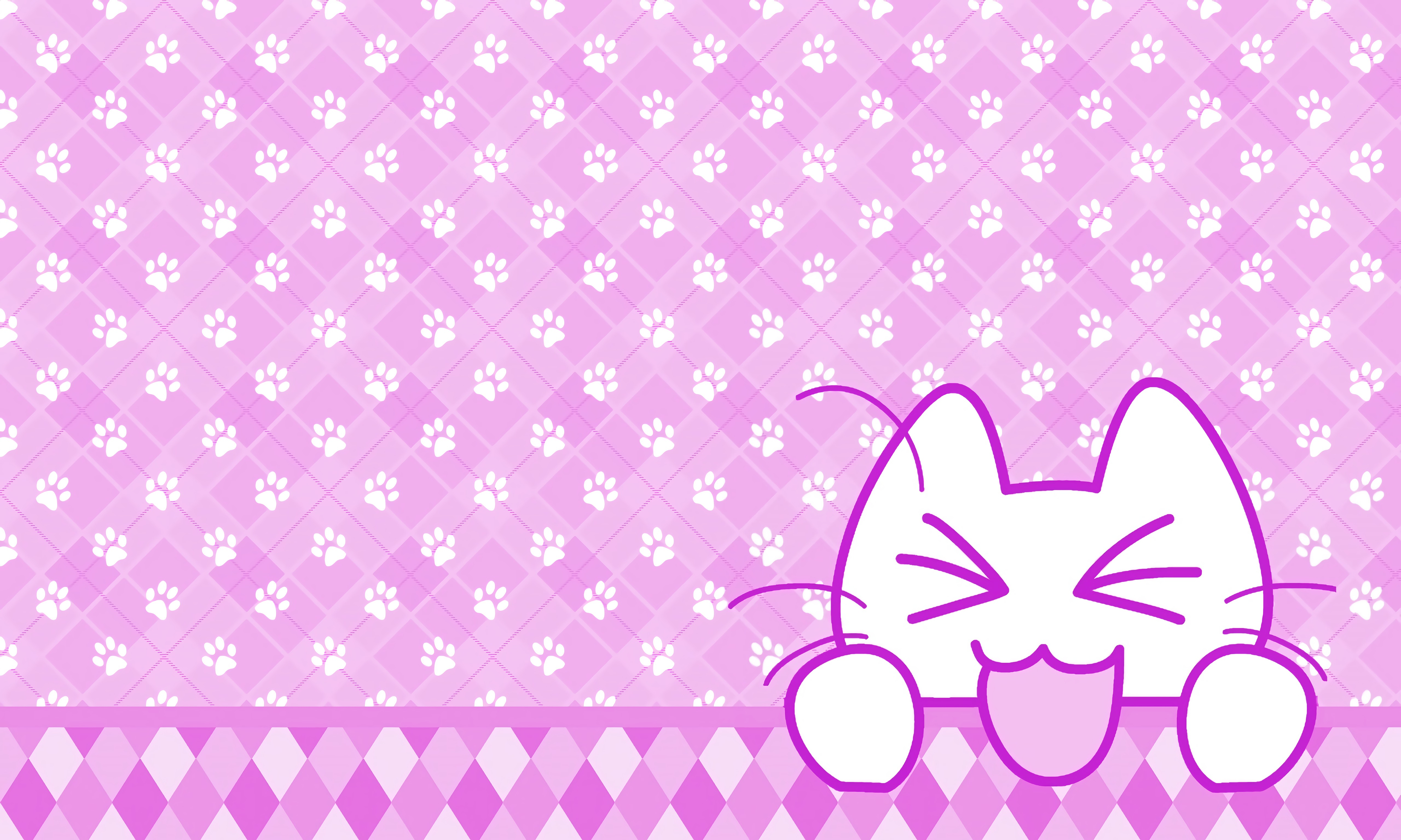 124626 download wallpaper Vector, Cat, Protruding Tongue, Tongue Stuck Out, Funny, Art screensavers and pictures for free