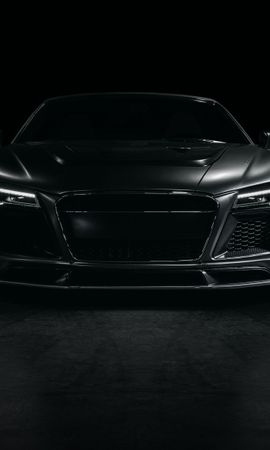 77399 Screensavers and Wallpapers Sports for phone. Download Cars, Audi, R8, Sports Car, Sports, Tuning, Front View pictures for free