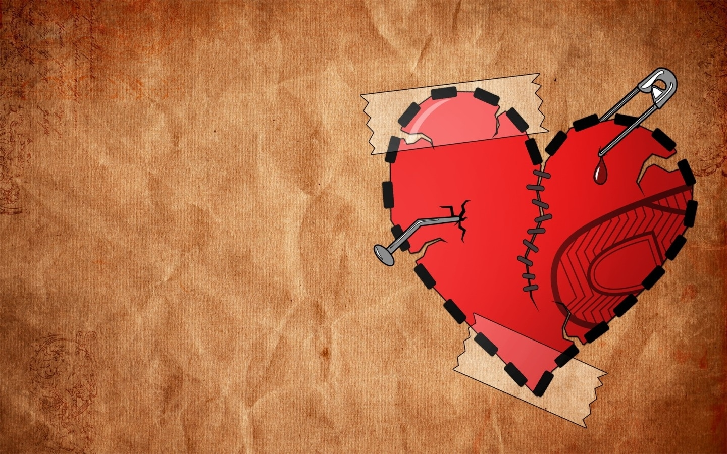 41502 download wallpaper Background, Hearts, Pictures screensavers and pictures for free