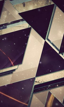 122821 download wallpaper Abstract, Triangles, Background, Shine, Light screensavers and pictures for free