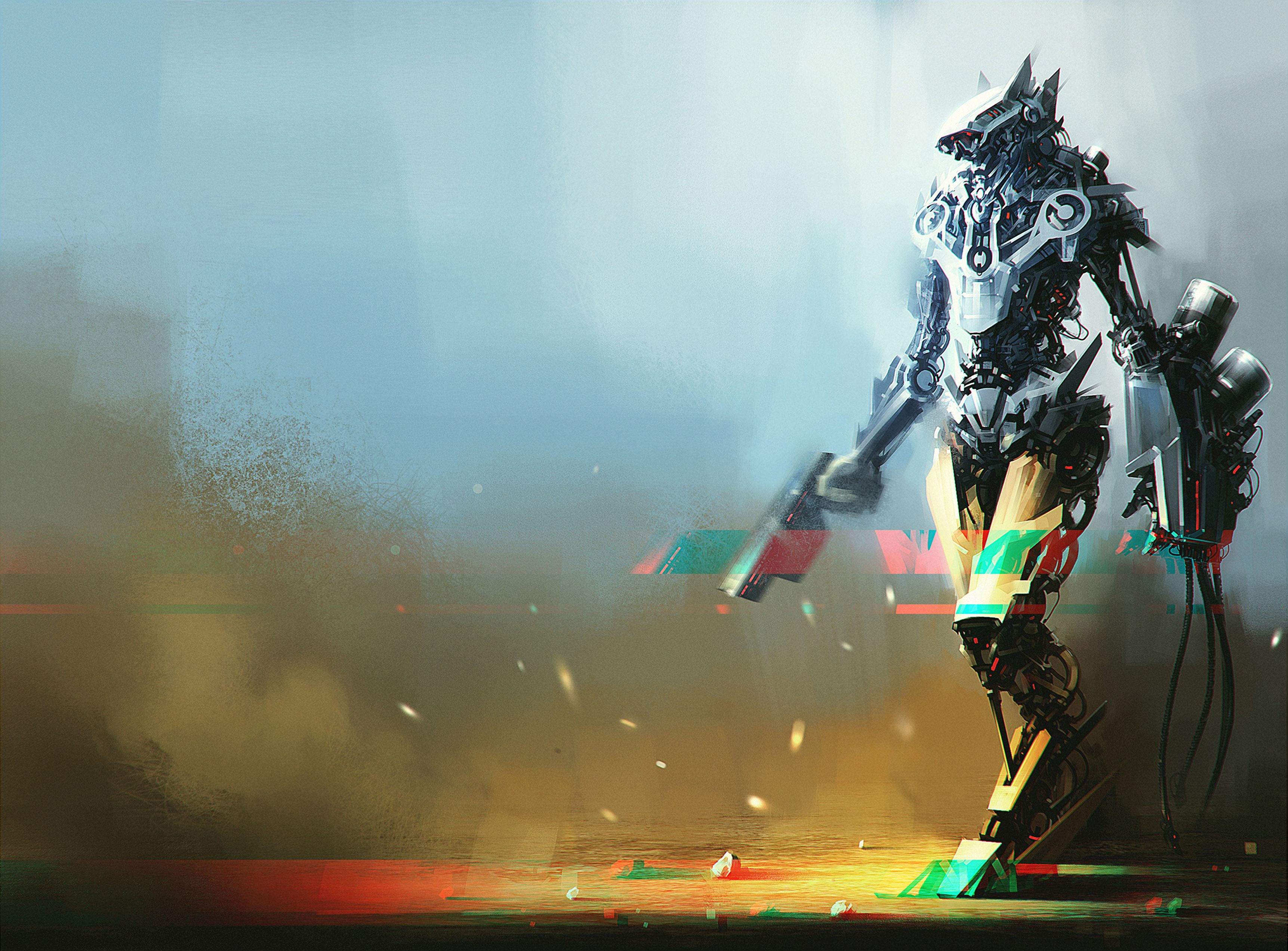 115793 Screensavers and Wallpapers Robot for phone. Download Art, Robot, Being, Creature, Cyborg pictures for free
