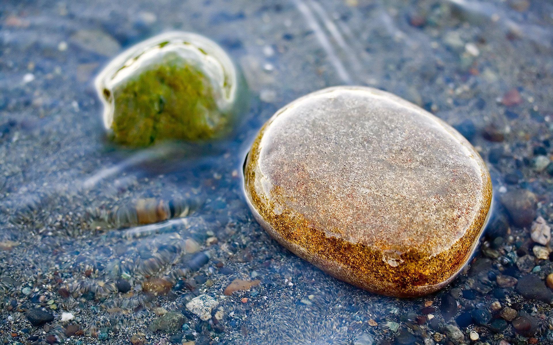 135760 descargar fondo de pantalla Naturaleza, Stones, Mojado, Agua, Transparente: protectores de pantalla e imágenes gratis