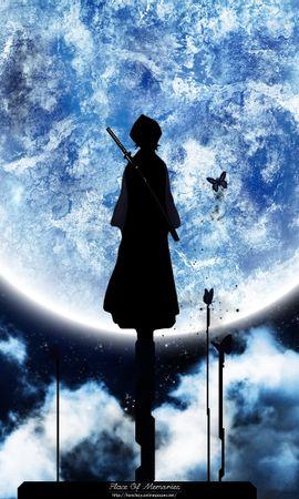 1487 descargar fondo de pantalla Anime, Cielo, Arte, Planetas, Noche: protectores de pantalla e imágenes gratis