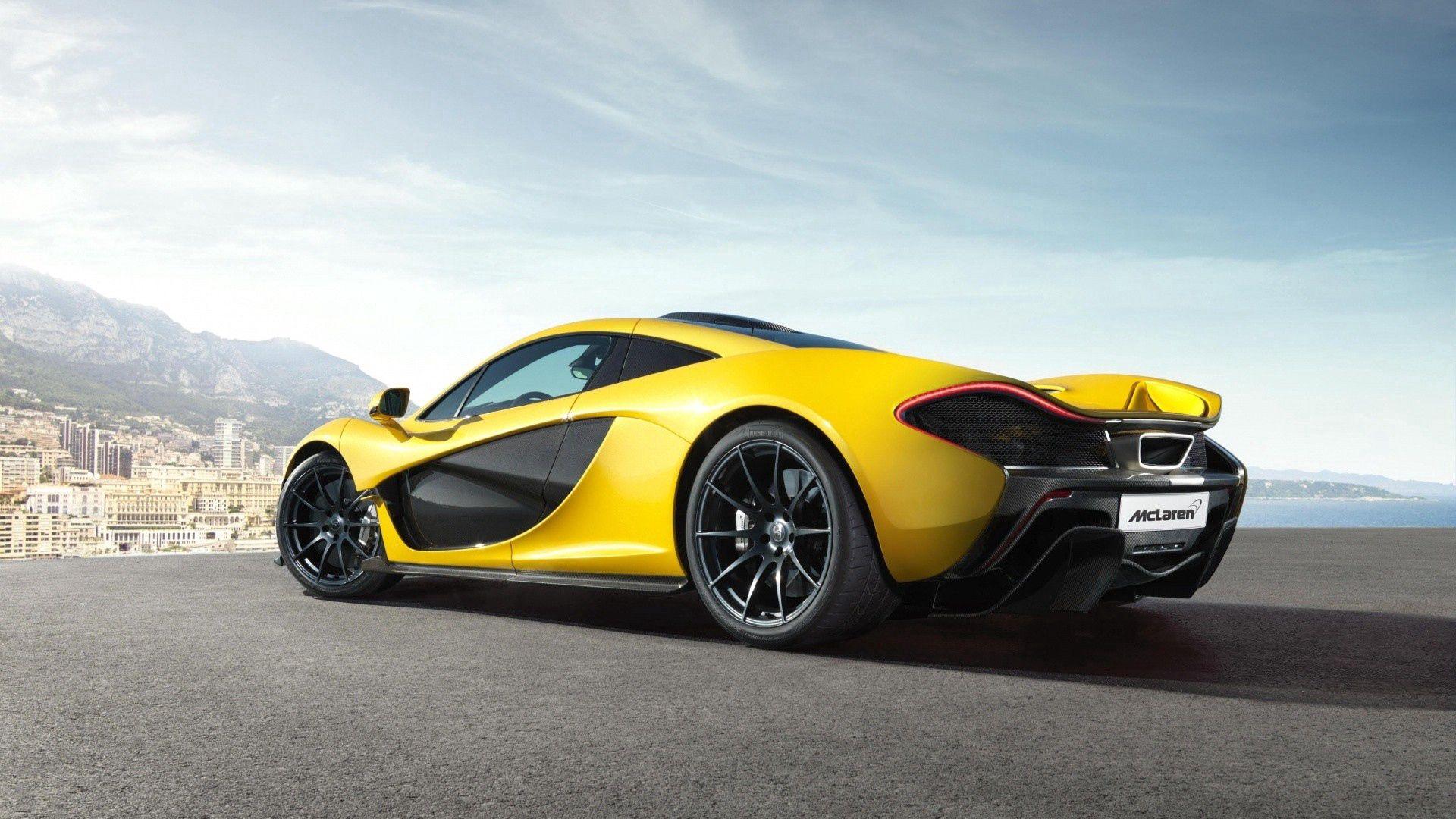 145759 скачать обои Тачки (Cars), Макларен (Mclaren), Mclaren P1, Машины, Желтый, Спорт - заставки и картинки бесплатно