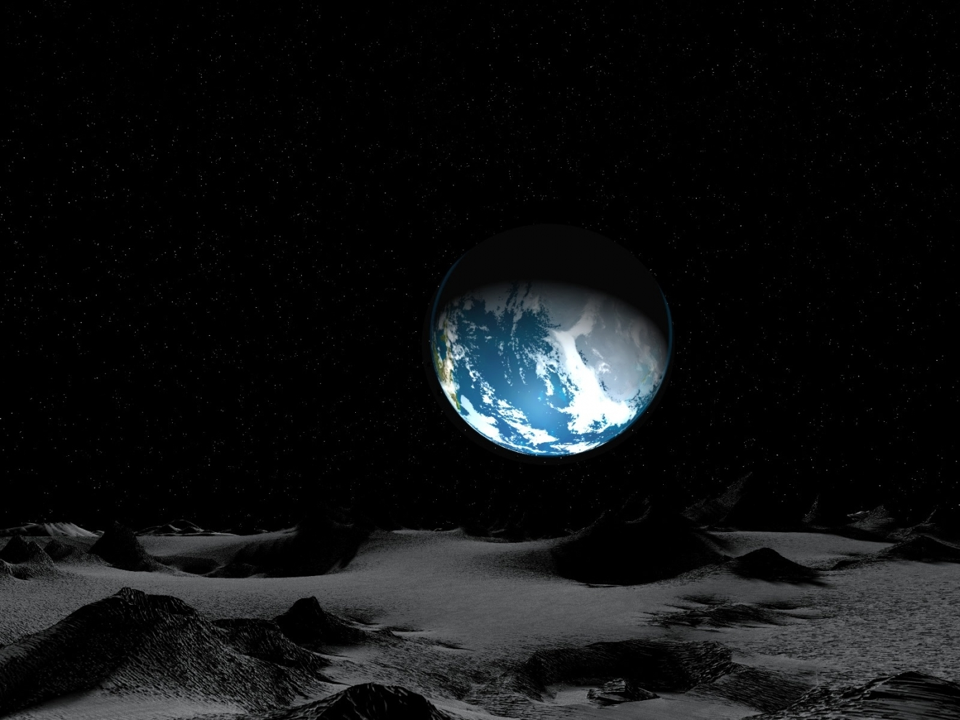 48065 download wallpaper Landscape, Planets screensavers and pictures for free