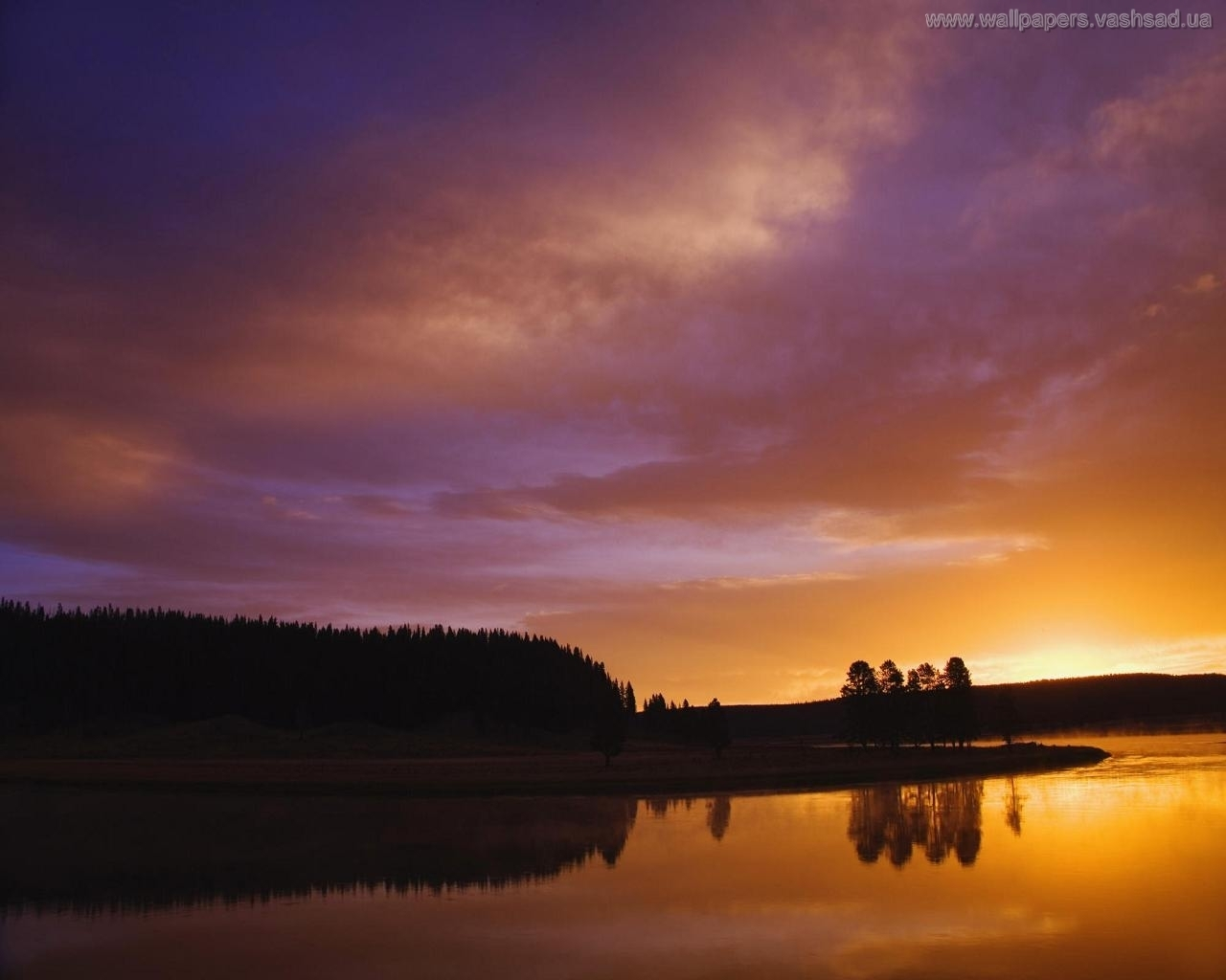 935 download wallpaper Landscape, Water, Sunset, Sky screensavers and pictures for free