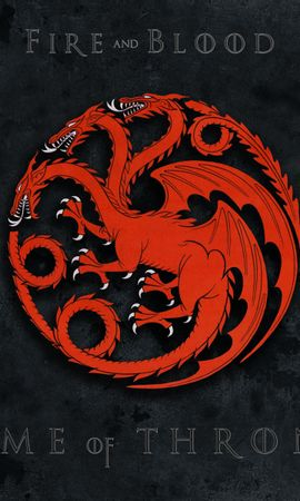 20090 download wallpaper Cinema, Fantasy, Logos, Game Of Thrones screensavers and pictures for free