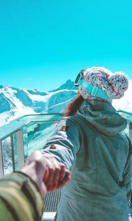 101301 descargar fondo de pantalla Deportes, Niña, Muchacha, Snowboarder, Deportista, Montañas: protectores de pantalla e imágenes gratis