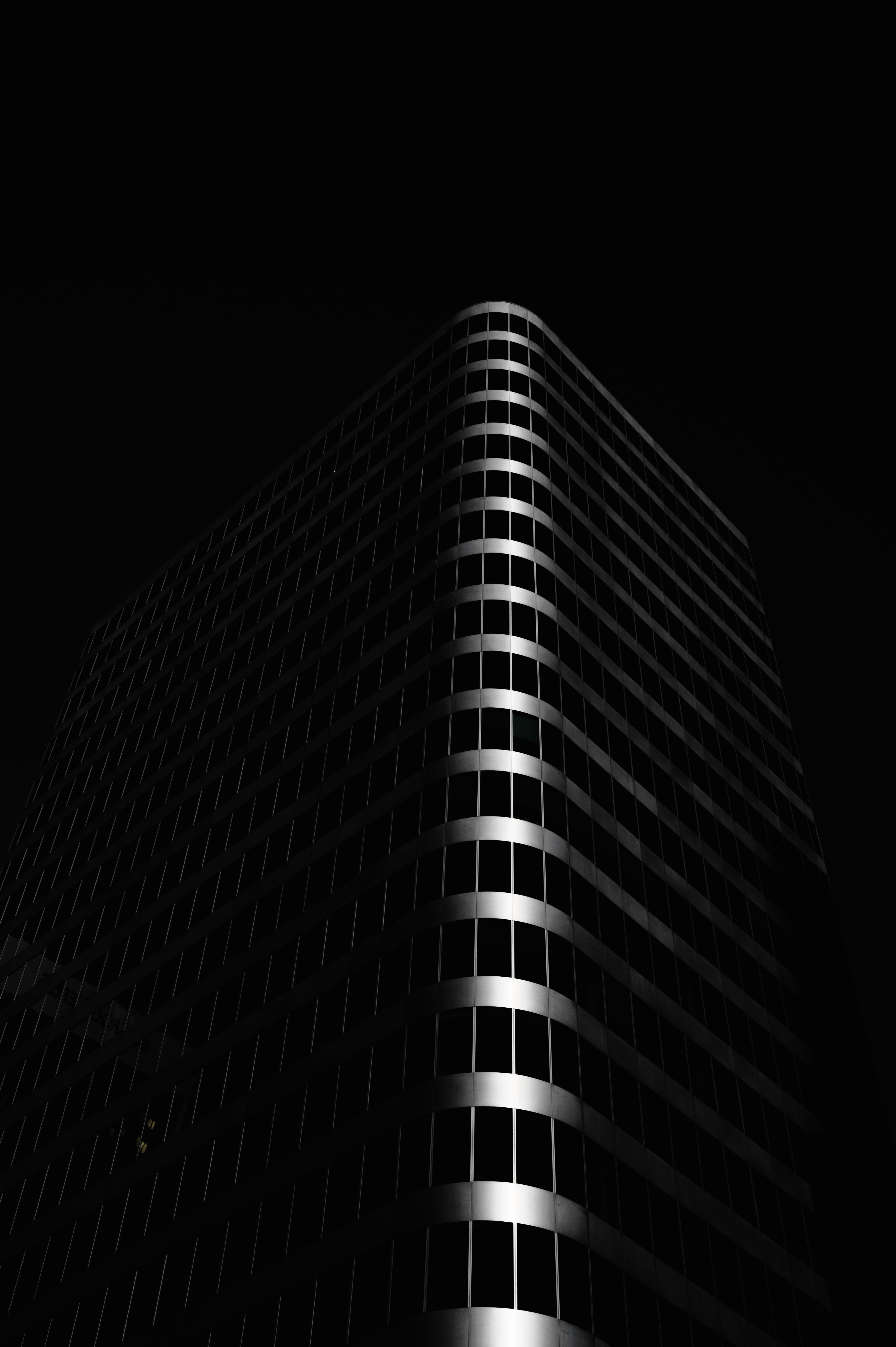 89054 descarga Negro fondos de pantalla para tu teléfono gratis, Edificio, El Negro, Oscuro, Arquitectura Negro imágenes y protectores de pantalla para tu teléfono