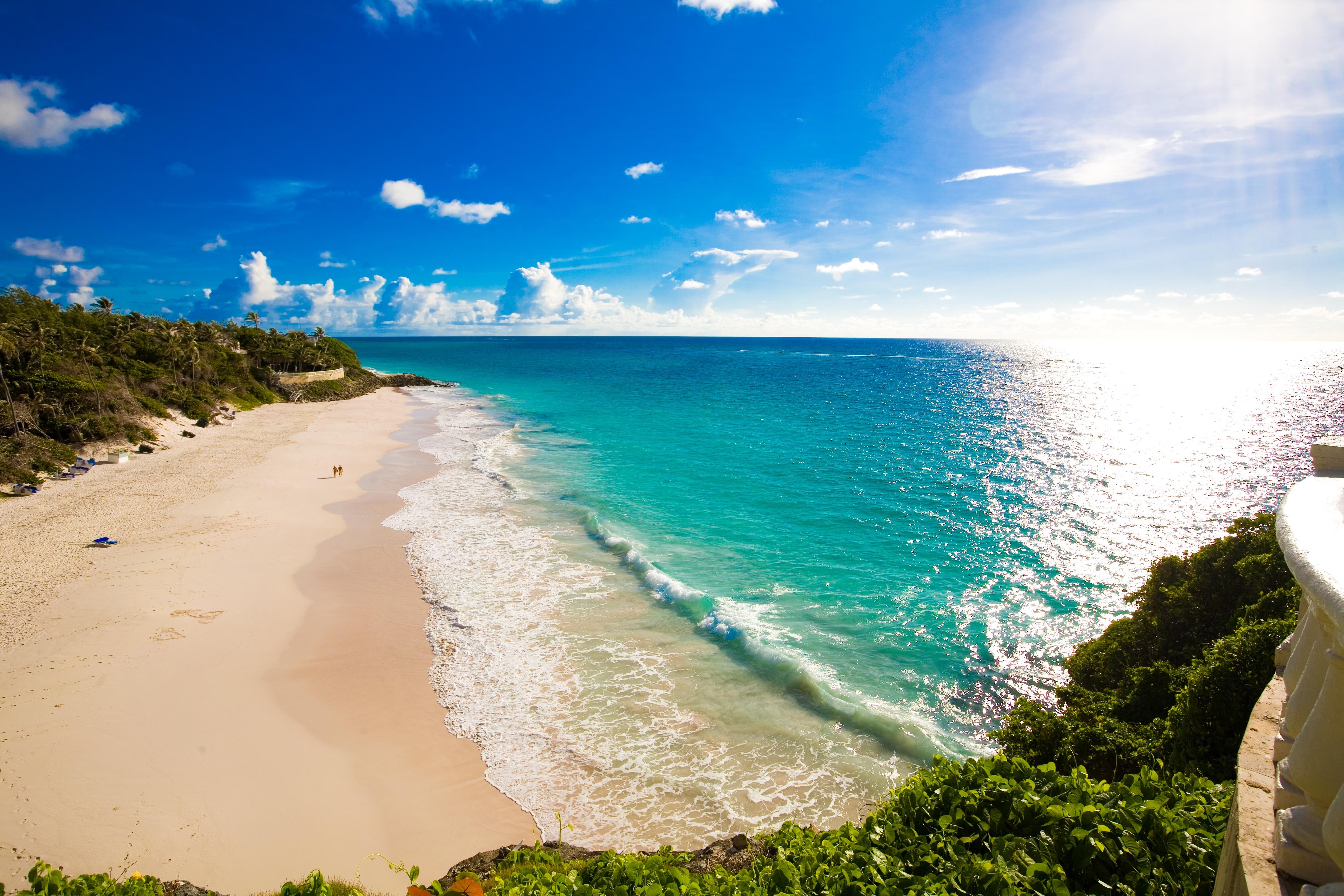 75317 Заставки и Обои Пляж на телефон. Скачать Природа, Пляж, Тропики, Море, Песок, Трава картинки бесплатно
