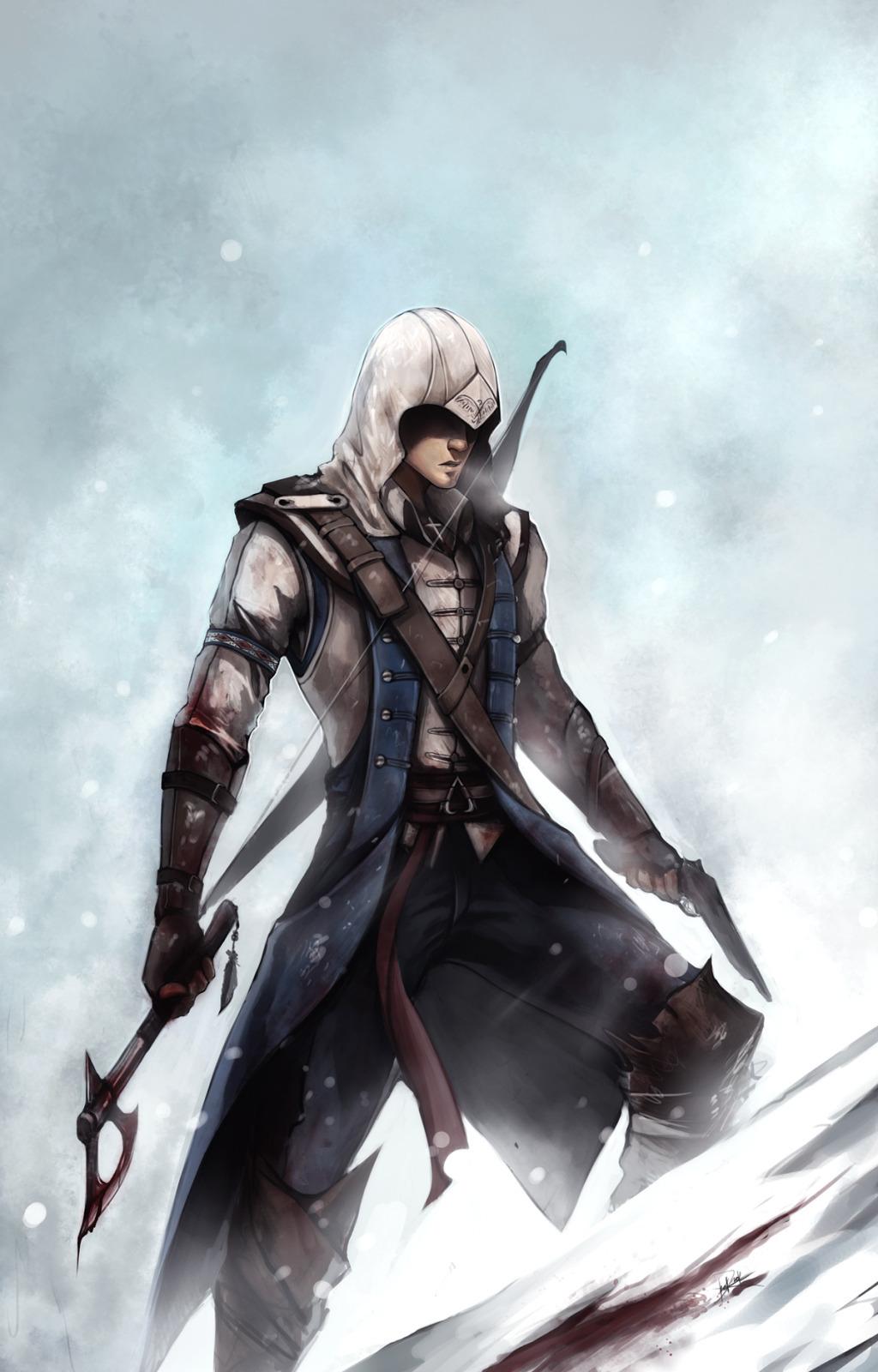 21242 скачать обои Игры, Кредо Убийцы (Assassin's Creed), Рисунки - заставки и картинки бесплатно