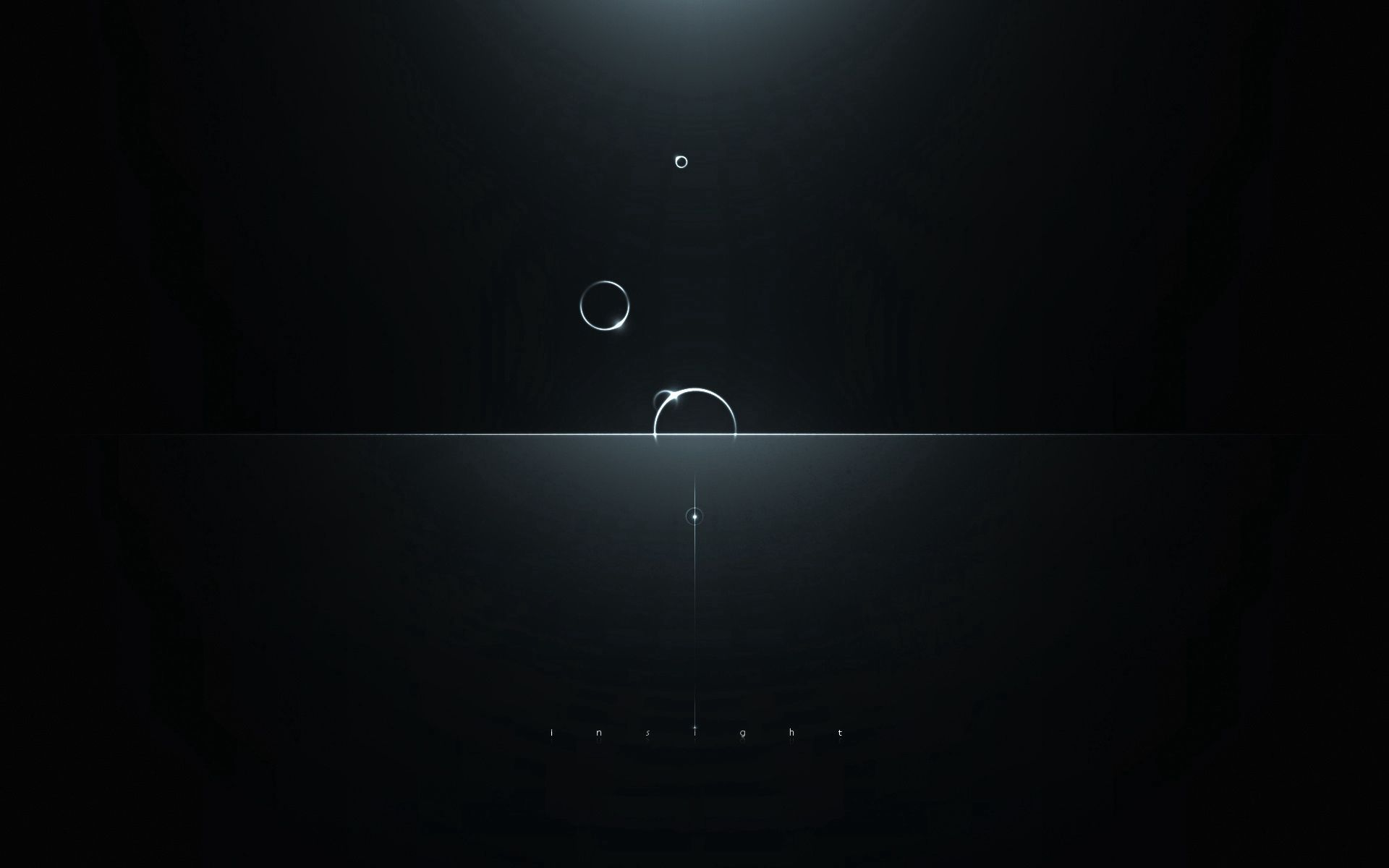 132036 download wallpaper Dark, Minimalism, Circles, Glare, Shine, Light, Intuition screensavers and pictures for free