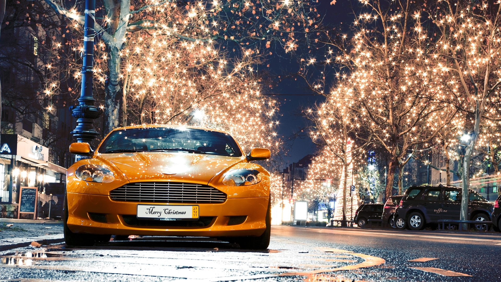 28451 download wallpaper Transport, Holidays, Auto, Christmas, Xmas screensavers and pictures for free