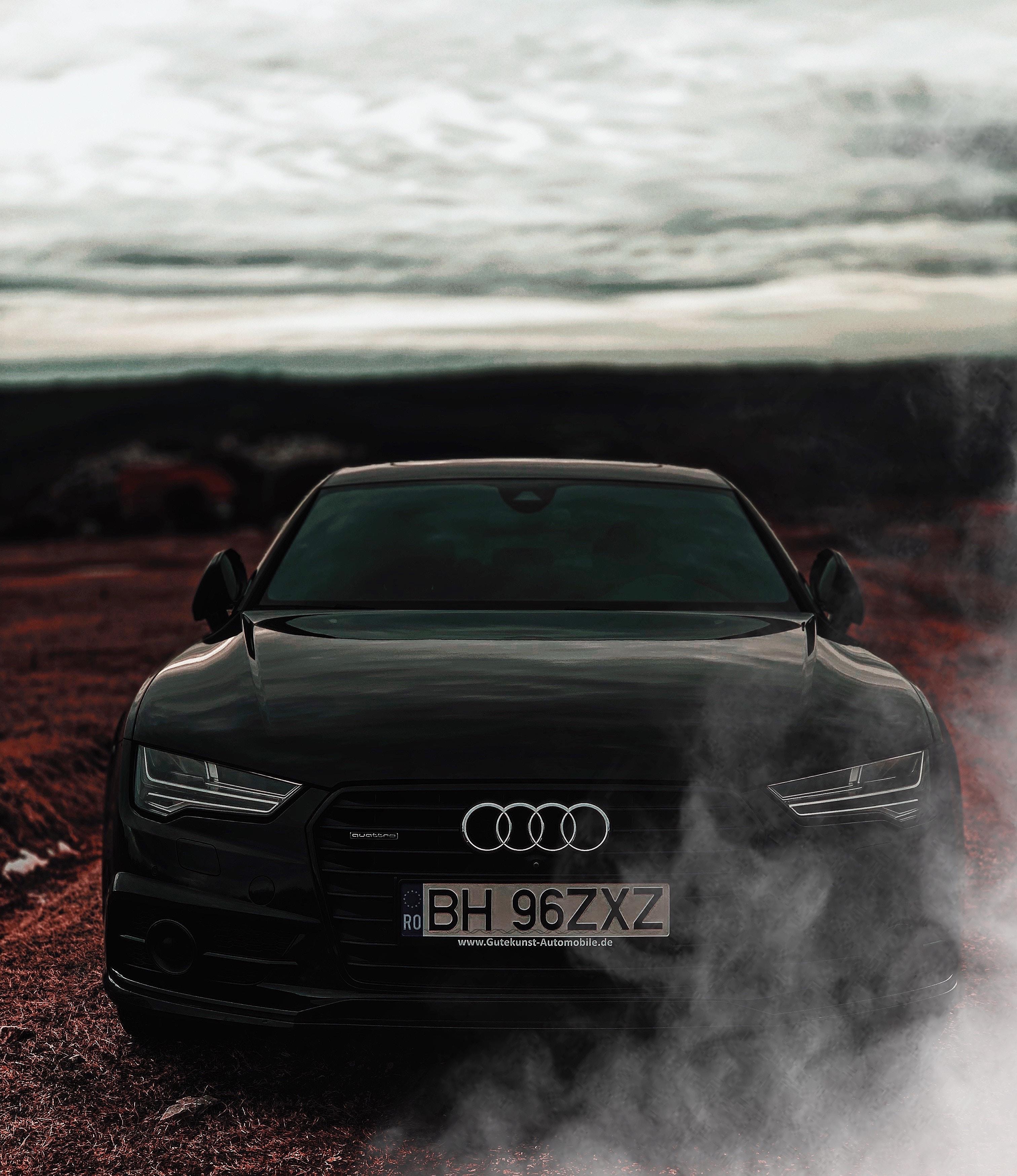 134940 завантажити шпалери Ауді, Тачки, Вогні, Вид Спереду, Фари, Audi A7 - заставки і картинки безкоштовно
