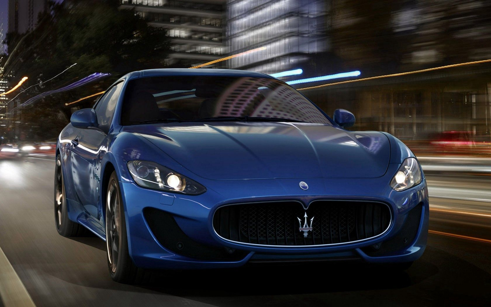 64716 Screensavers and Wallpapers Street for phone. Download Cars, Maserati, Car, Machine, Speed, Street pictures for free