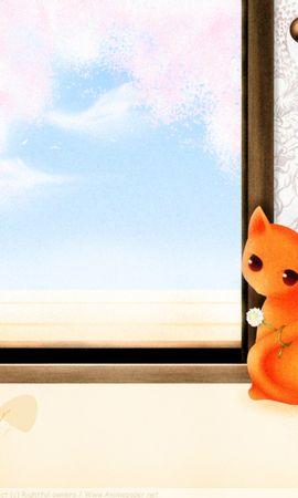 23896 скачать обои Животные, Растения, Кошки (Коты, Котики) - заставки и картинки бесплатно