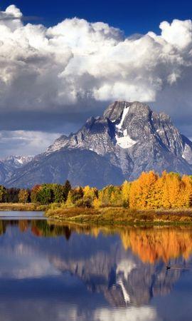 30247 скачать обои Пейзаж, Река, Горы - заставки и картинки бесплатно