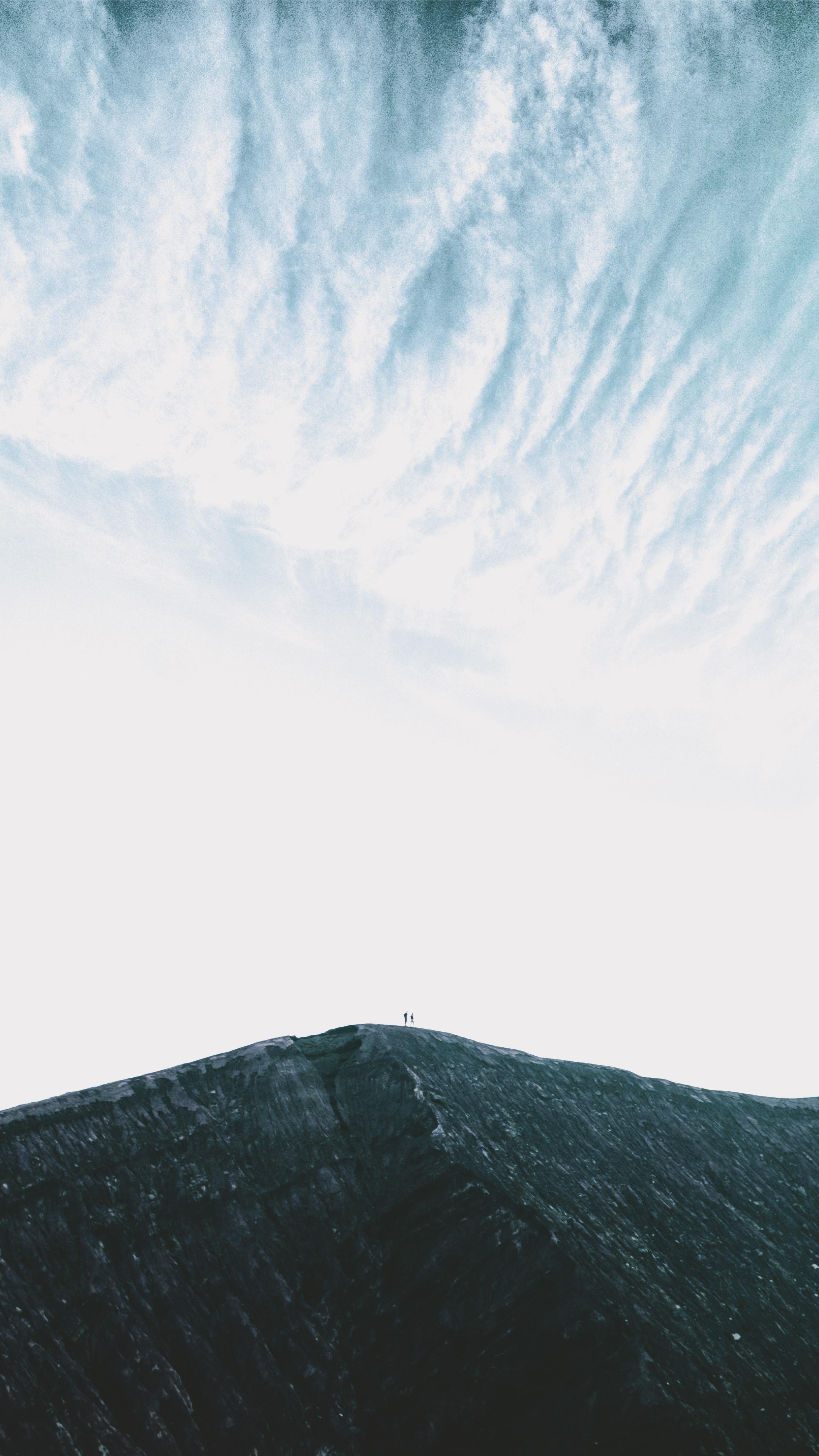 149415 免費下載壁紙 极简主义, 岩石, 山, 戈拉, 剪影, 顶点, 天空 屏保和圖片