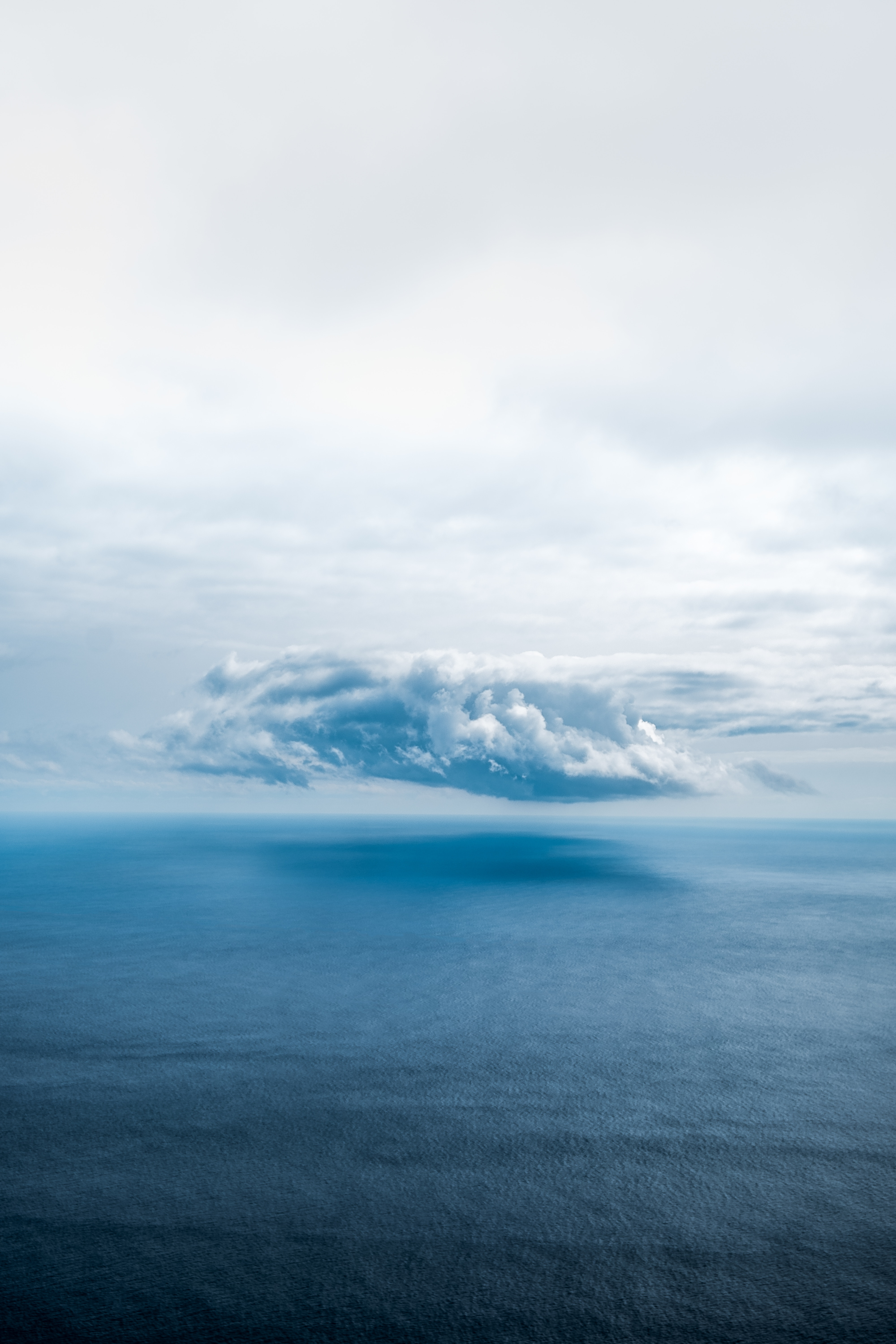 129760 download wallpaper Nature, Sky, Sea, Horizon, Cloud, Porous screensavers and pictures for free