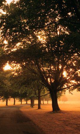 37768 télécharger le fond d'écran Paysage, Coucher De Soleil, Routes - économiseurs d'écran et images gratuitement