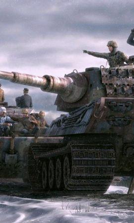 19606 télécharger le fond d'écran Jeux, Dessins, World Of Tanks - économiseurs d'écran et images gratuitement