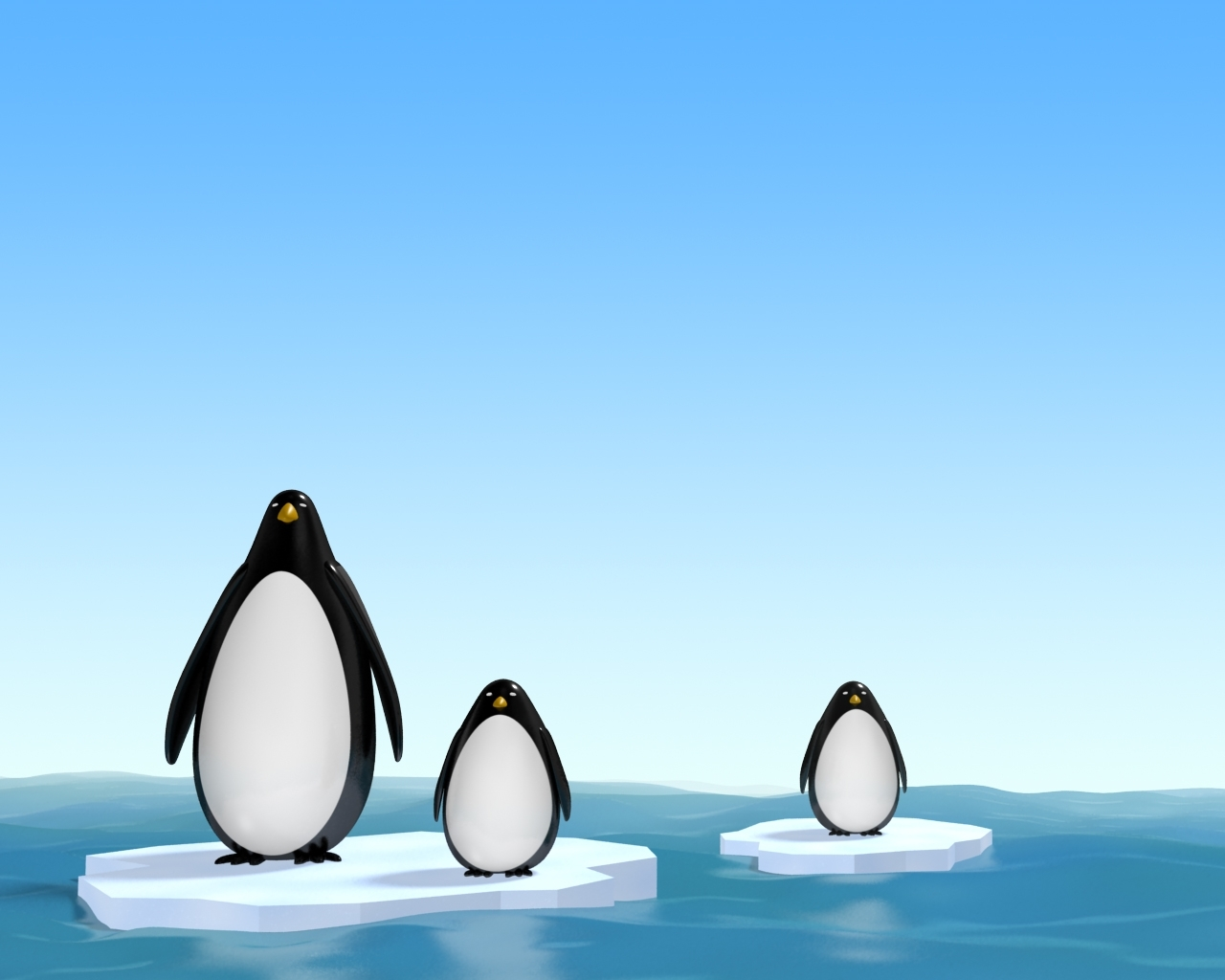 1430 download wallpaper Animals, Pinguins, Pictures screensavers and pictures for free