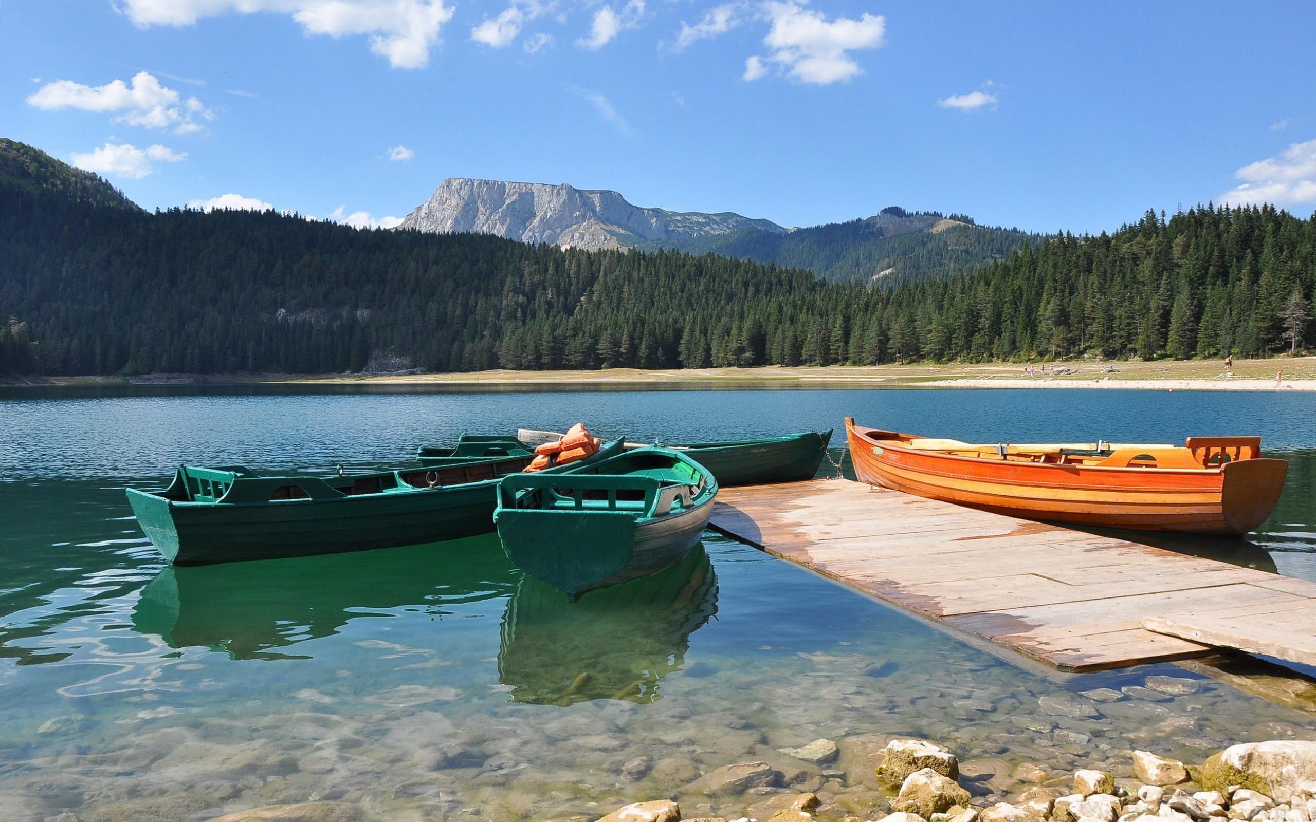 Скачать картинку Транспорт, Пейзаж, Река, Лодки в телефон бесплатно.