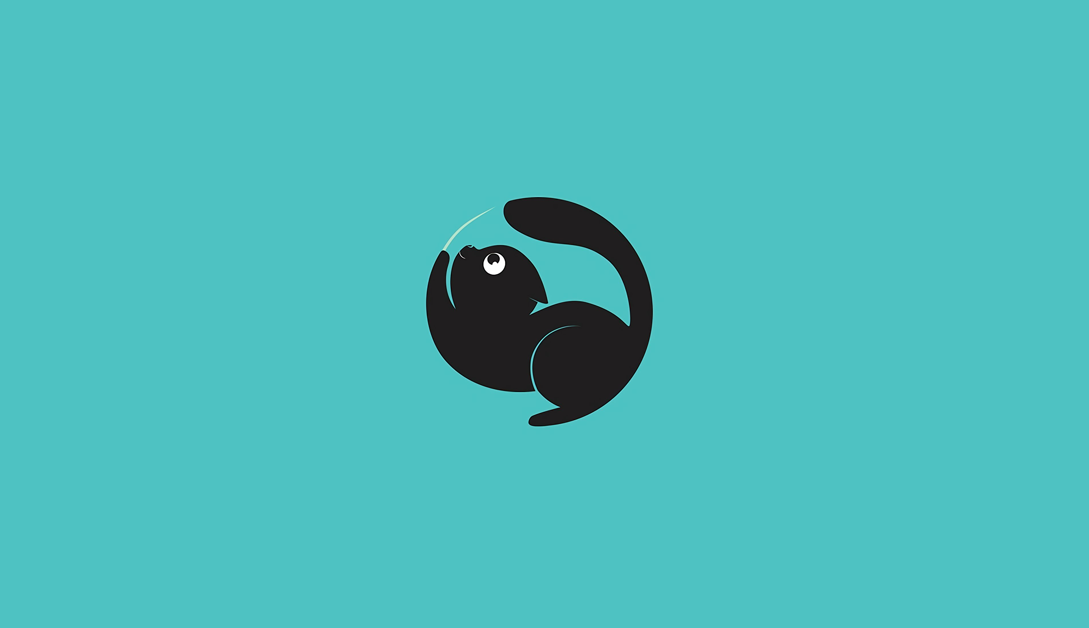 149695 download wallpaper Funny, Art, Vector, Cat, Minimalism screensavers and pictures for free