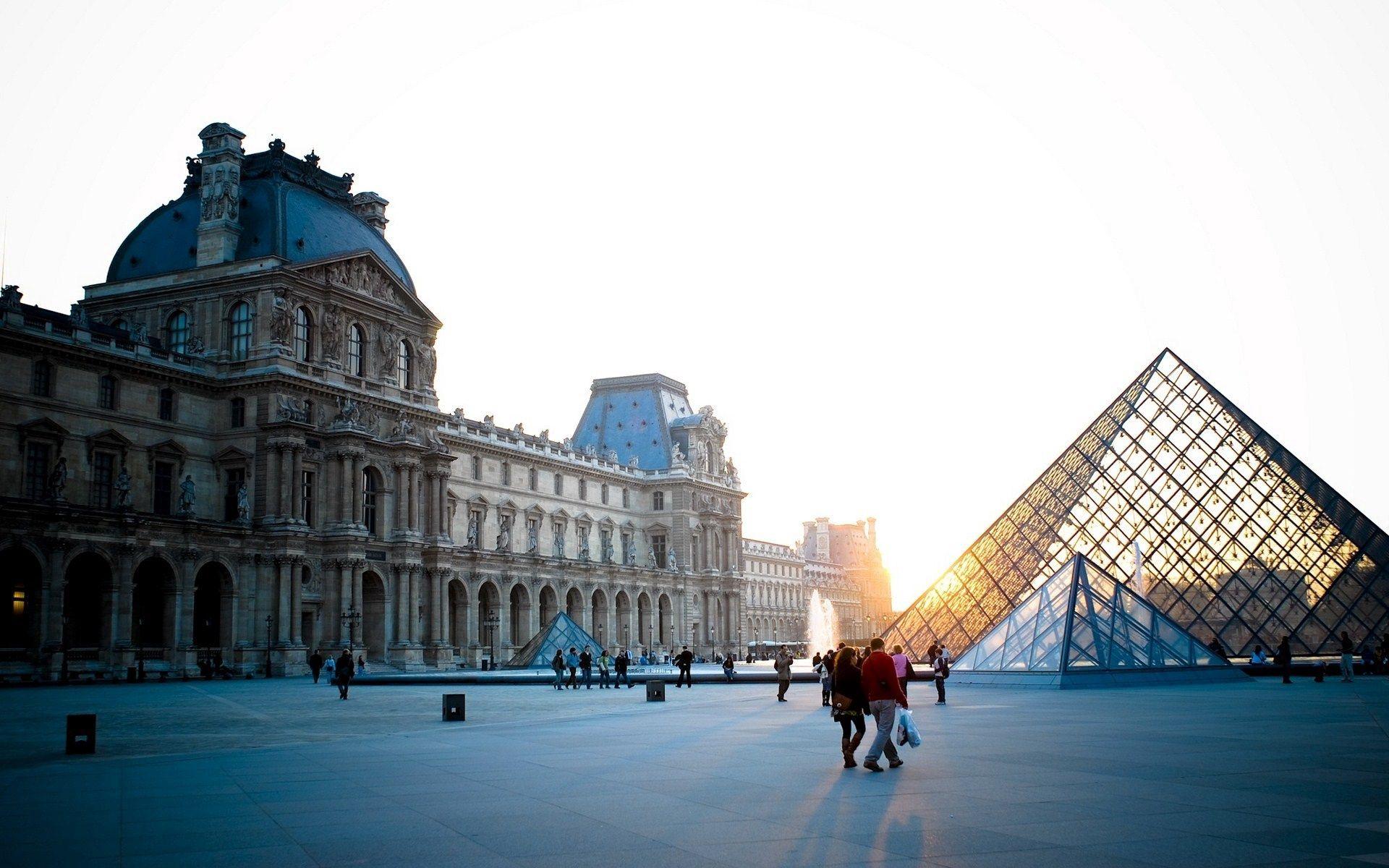 142589壁紙のダウンロードパリ, フランス, 都市, ルーブル美術館-スクリーンセーバーと写真を無料で