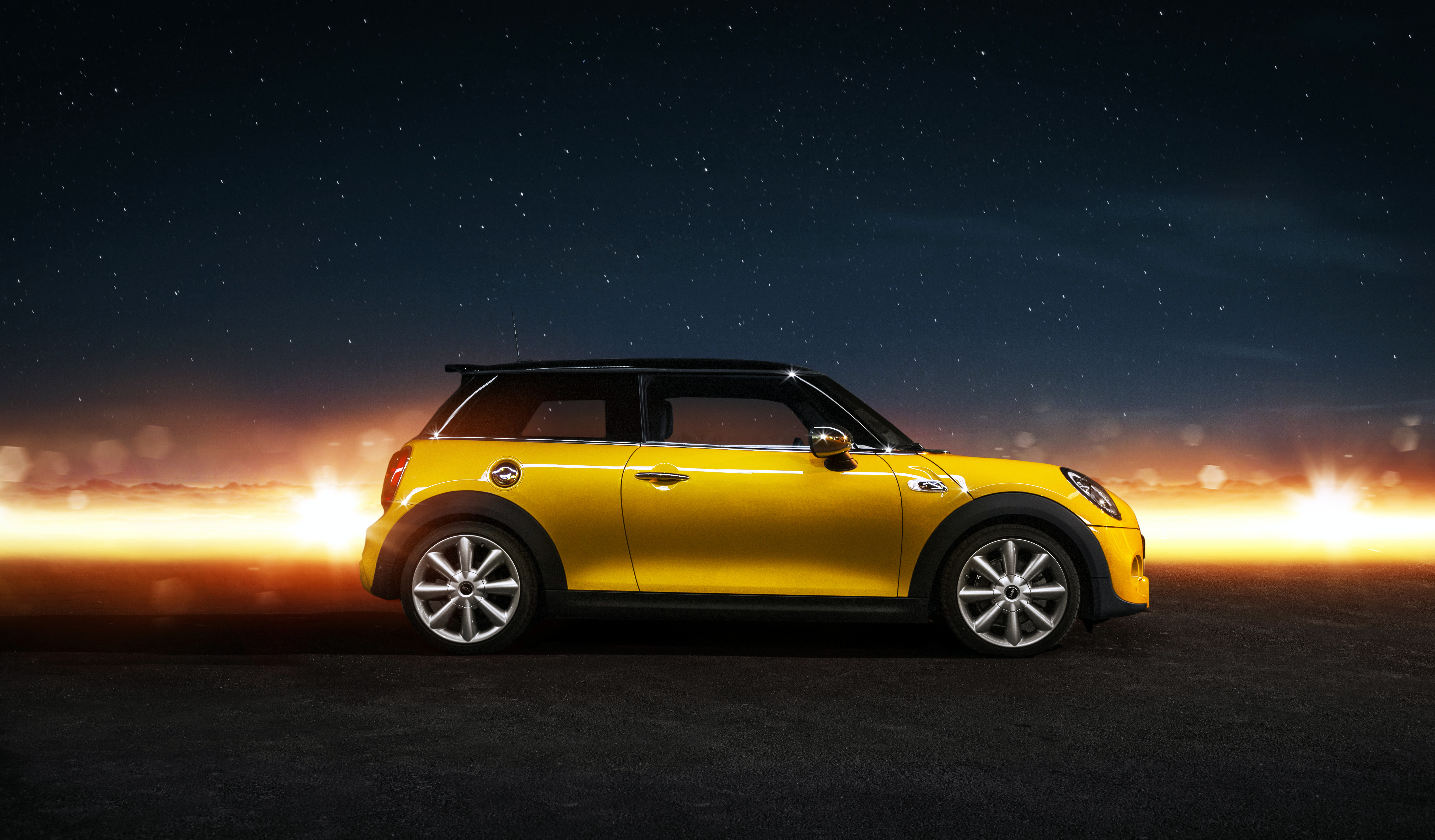 128008 download wallpaper Auto, Mini Cooper, Cars, Side View, Mini Cooper S screensavers and pictures for free