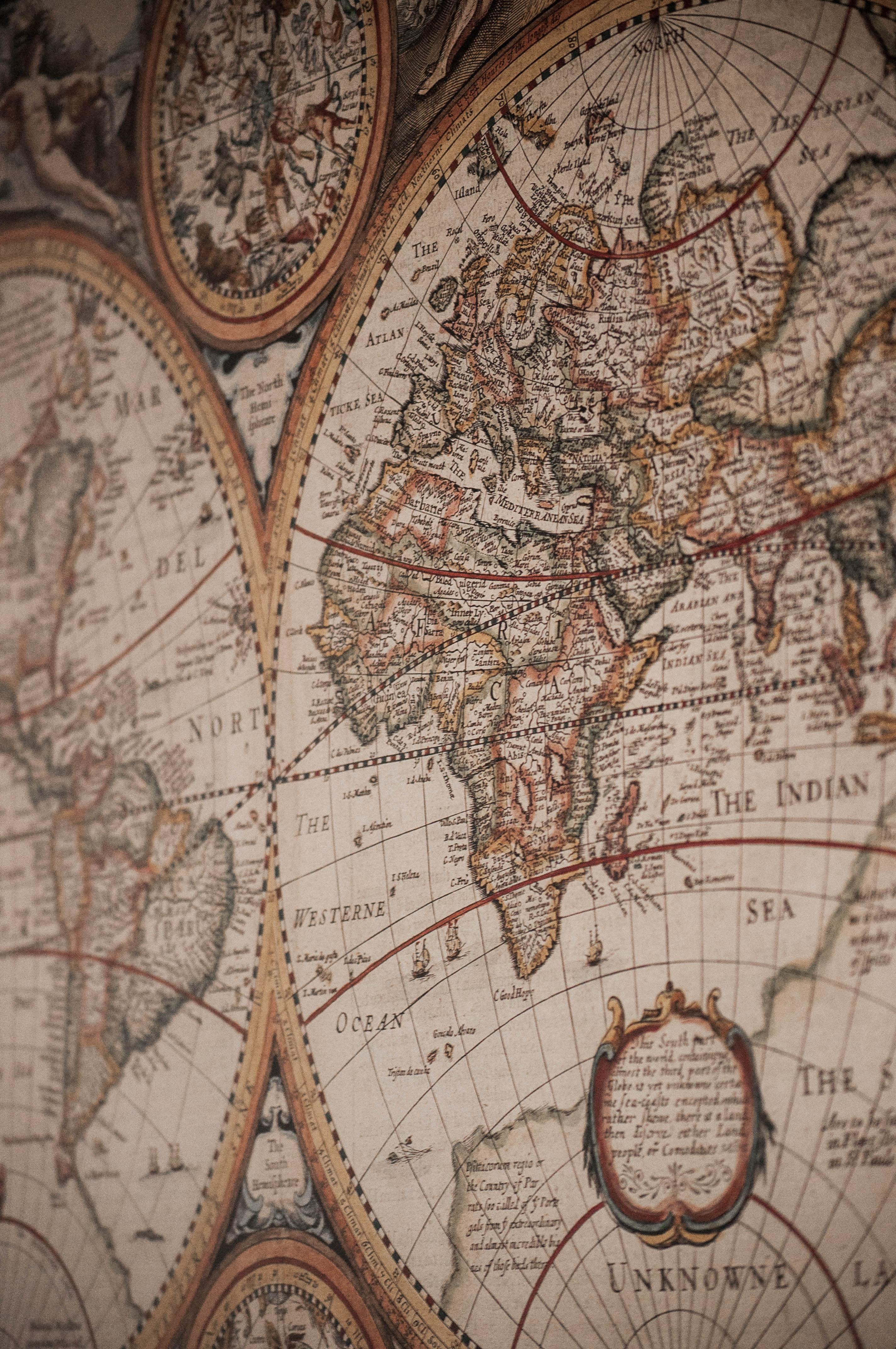 92564 скачать обои Слова, Старинная, Разное, Карта, География, Карта Мира - заставки и картинки бесплатно