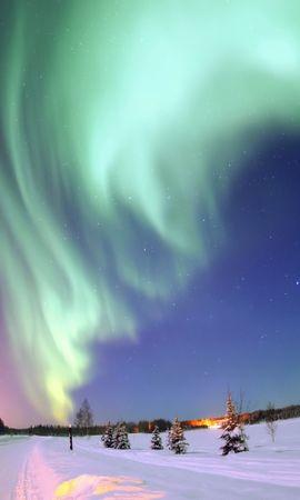 28300 скачать обои Пейзаж, Небо, Ночь, Снег - заставки и картинки бесплатно
