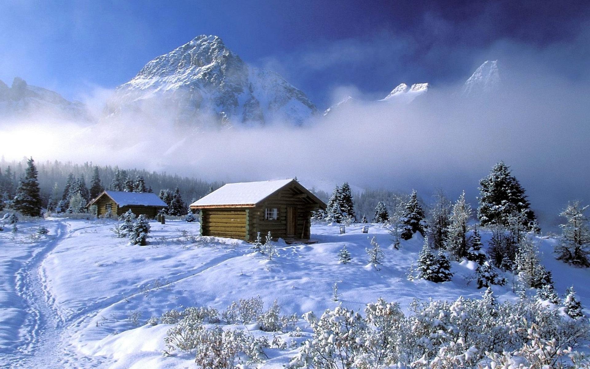 29204 скачать обои Пейзаж, Зима, Горы, Снег - заставки и картинки бесплатно